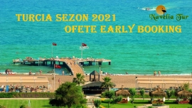 Turcia sezon 2021 ! Oferte Early booking ! Antalia, zbor direct din Chisianu!