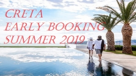 КРИТ - EARLY BOOKING SUMMER 2019 !!!